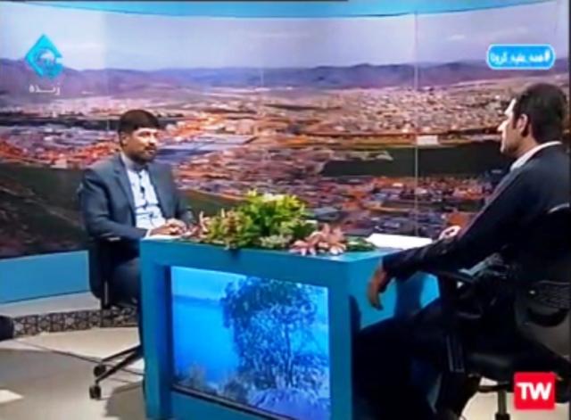 تالاب کانی برازان شهرستان مهاباد سیراب میشود